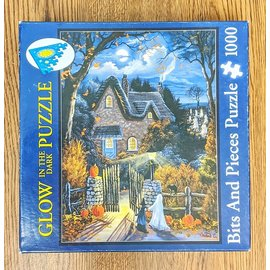Glow in the Dark Puzzle 1000 pieces - Used