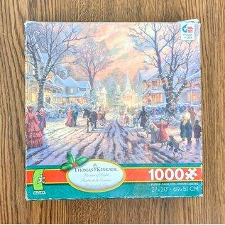 Thomas Kinkade 1000 Piece Puzzle - Used
