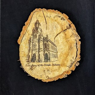 Church of the Immaculate Conception Wood Slab