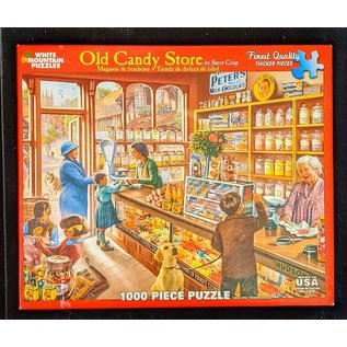 Old Candy Store 1000 Puzzle - Used
