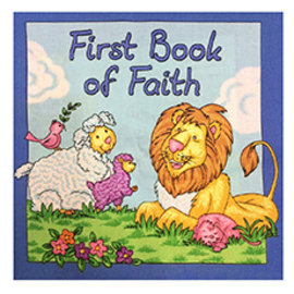 First Book Of Faith Cloth Book