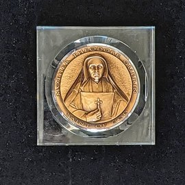 Mother Theodore Lucite Medallion (Large)