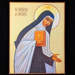 Icon Plaque - Saint Teresa of Jesus