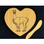Heart Shaped Cheese Board - Select your Image