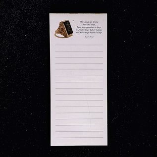 Magnetic Notepad with SMW Ring