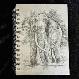 Ellie Pooh Journal - Tusker Sketch