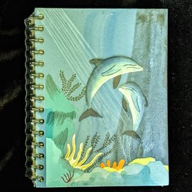 Ellie Pooh Journal - Dolphin Turquoise