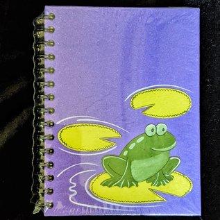 Ellie Pooh Journal - Frog Purple