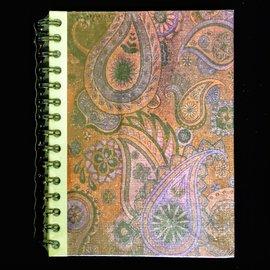 Ellie Pooh Journal - Paisley Design Red