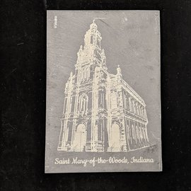 Church of the Immaculate Conception - Slate Engraving