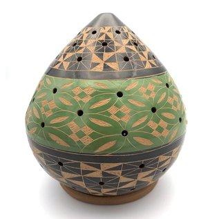 Geometric - Ceramic Lantern