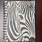 Ellie Pooh Journal - Zebra Face