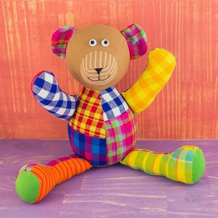 Patchwork Doll - Bear
