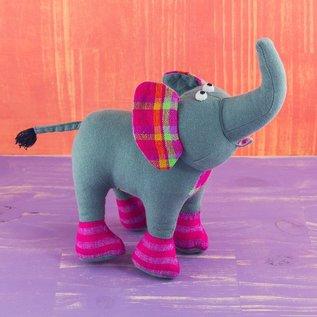 Patchwork Doll - Elephant