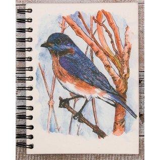 Ellie Pooh Journal - Bluebird Sketch