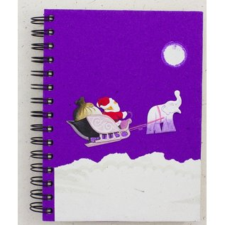 Ellie Pooh Journal - Holiday Santa