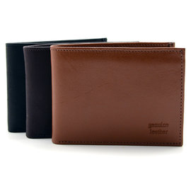 Fair Trade Leather Bifold Wallet