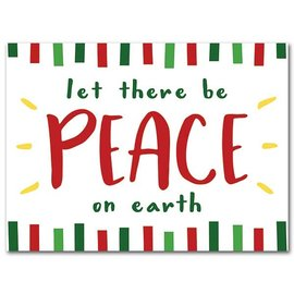 Package  Christmas Cards - Let There Be Peace On Earth