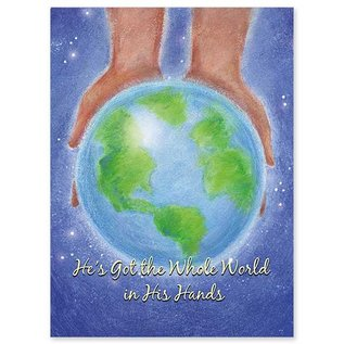 Package  Christmas Cards - He's Got The Whole World In His Hands
