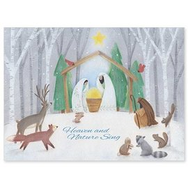 Package  Christmas Cards - Heaven and Nature Sing