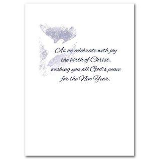 Package  Christmas Cards - Peace Joy Dove