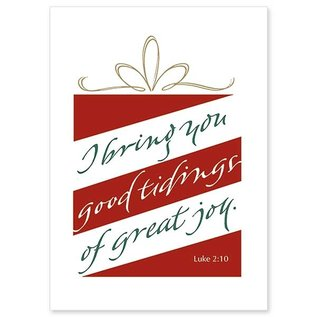 Package  Christmas Cards - I Bring You Tidings of Great Joy