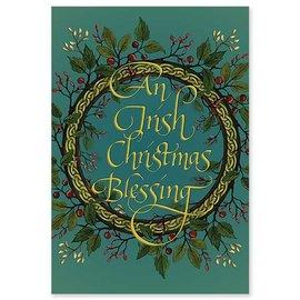 Package  Christmas Cards - Irish Christmas Knot Wreath