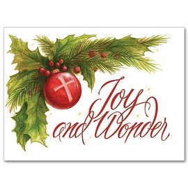 Package  Christmas Cards - Joy and Wonder