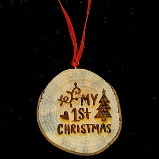 Holiday Wood Ornaments