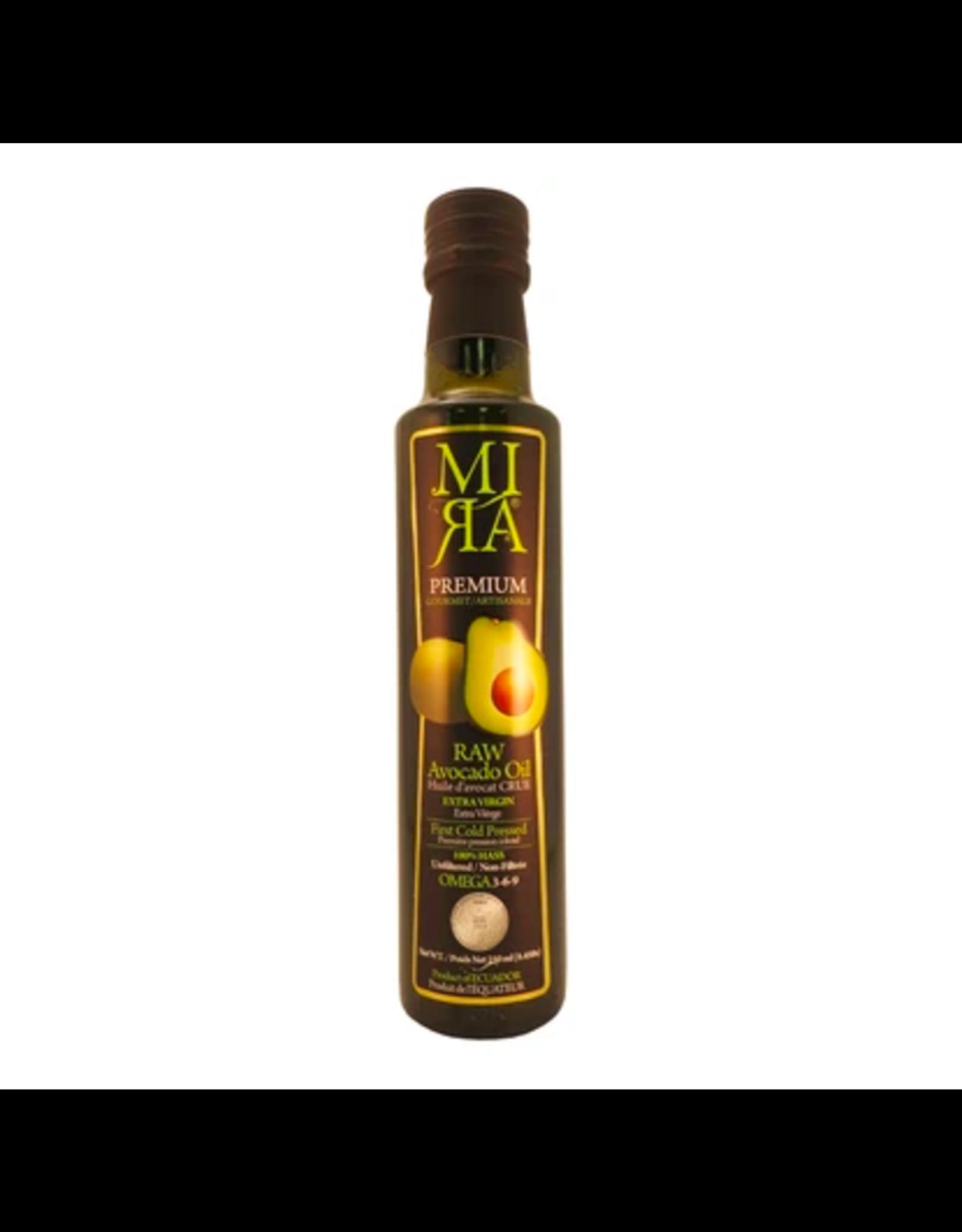 MIRA Organic Raw Extra Virgin Avocado Oil