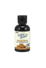 Now Better Stevia English Toffee liquid sweetener
