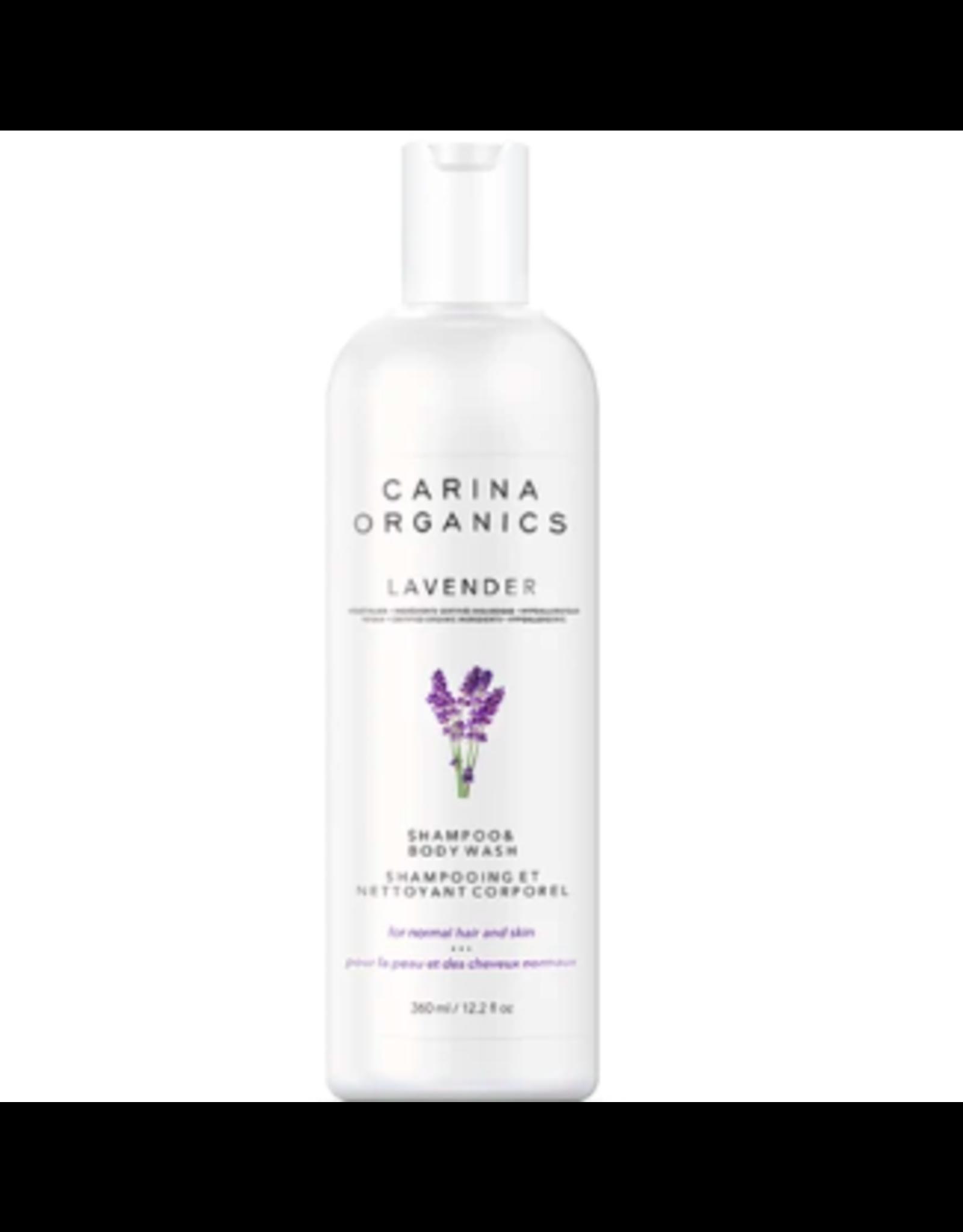 Carina Organics Lavender Shampoo and Body Wash