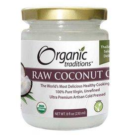 Organic Traditions Raw Coconut Oil