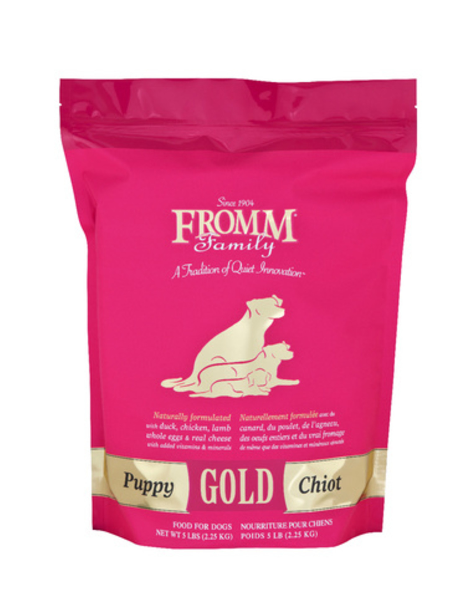 FROMM FAMILY FOODS LLC FROMM PUPPY GOLD, 5 LBS.