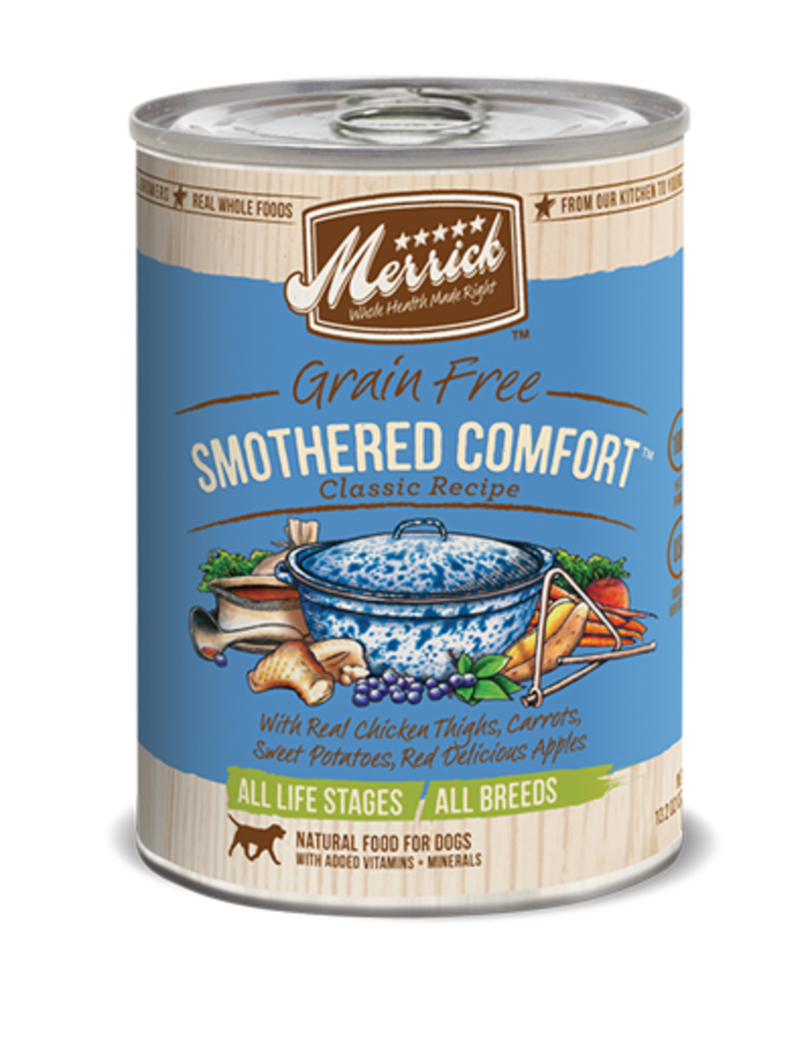 Merrick Pet Foods MERRICK CLASSIC SMOTHERED COMFORT, 12.7 oz.