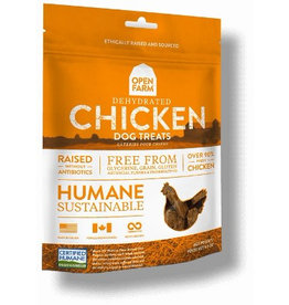 Open Farm Open Farm Dog Treat GF Dehydrated Chicken 4.5 oz
