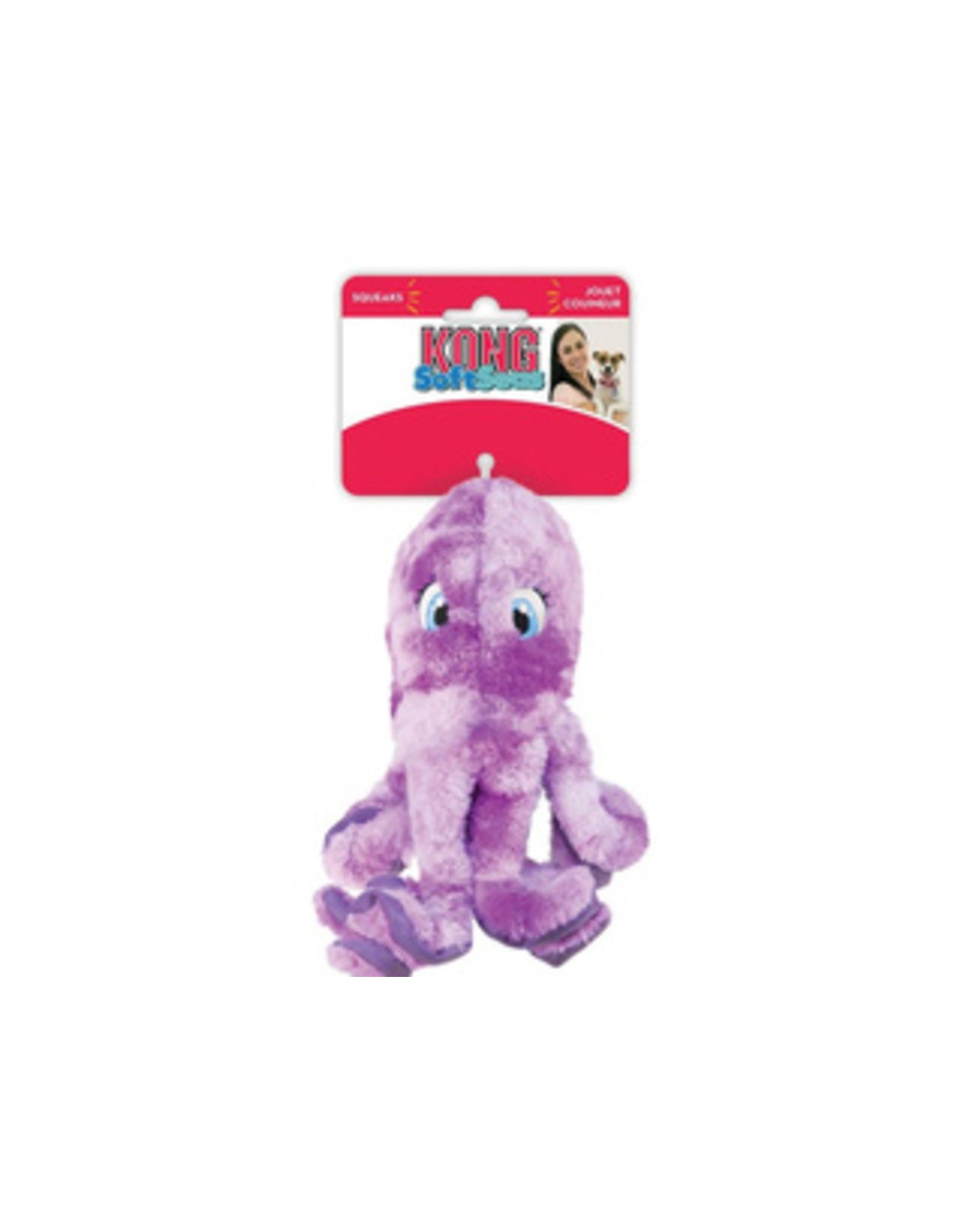 Kong Sml SoftSeas Octopus Pu