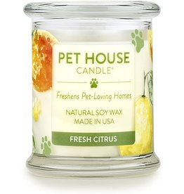 One Fur All Large Candles Fresh Citrus 8.5oz