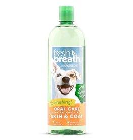 Tropiclean Tropiclean Fresh Breath Water Additive Plus Skin & Coat 16 oz