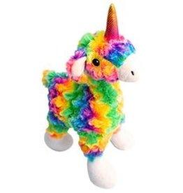 """SNUGAROOZ Snugazooz Llama Mia Plush Dog Toy 10"""""""