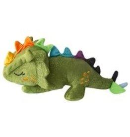 """SNUGAROOZ SNUGAROOZ Drowsy the Dragon Green Plush Dog Toy 14"""""""