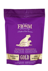 FROMM FAMILY FOODS LLC FROMM DOG SML BREED ADULT GOLD, 5 LBS.