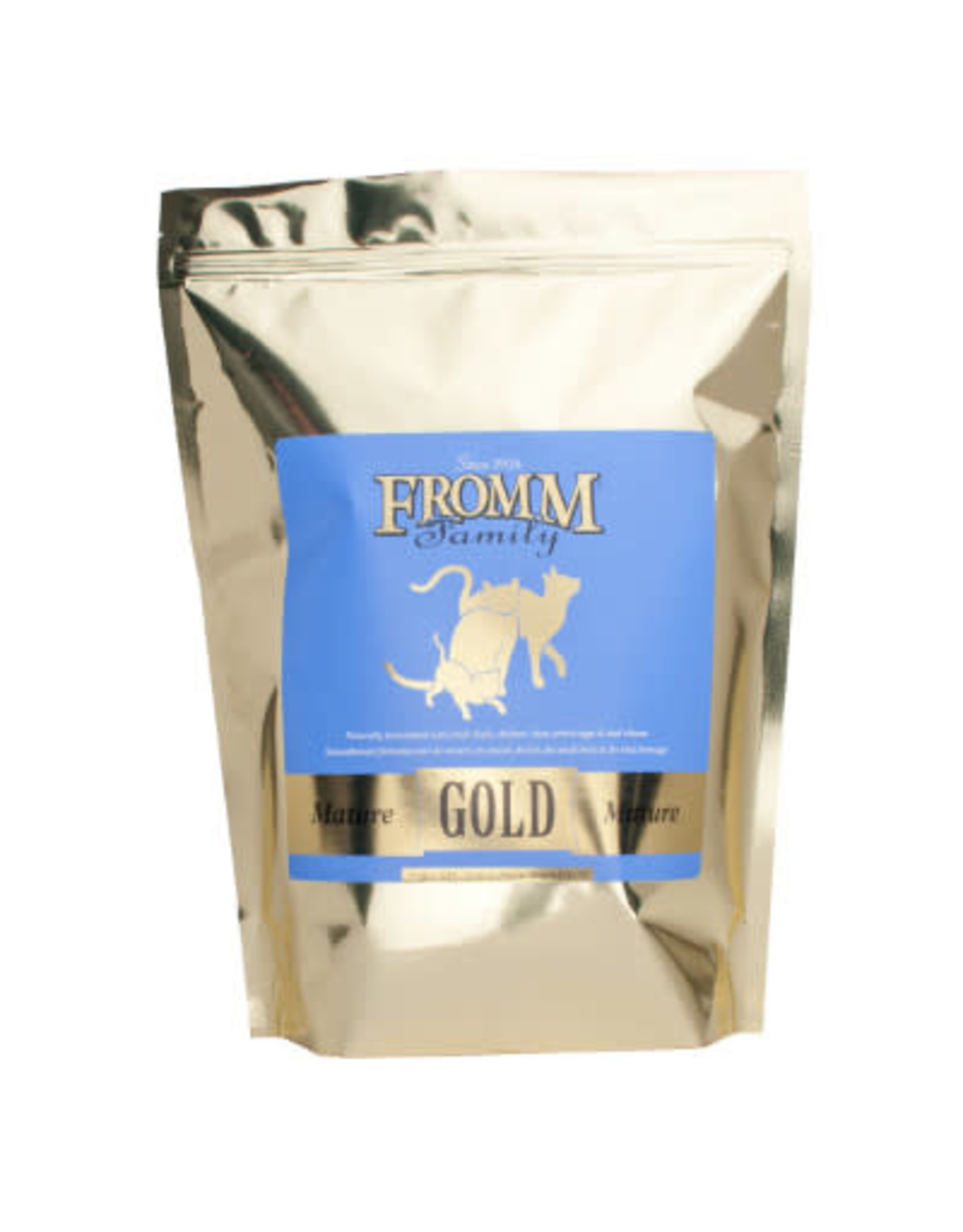 FROMM FAMILY FOODS LLC FROMM MATURE CAT GOLD, 5 LBS.