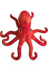 """SNUGAROOZ SNUGAROOZ Olivia the Octopus Plush Dog Toy 11"""""""