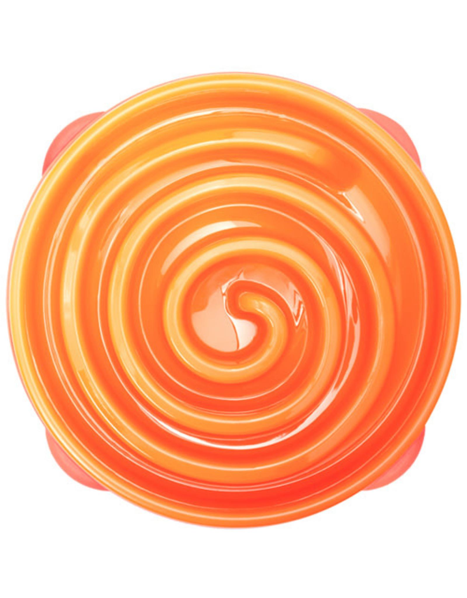 Outward Hound Fun Feeder - Large - Orange
