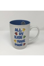 PetRageous All My Kids Have Paws Mug 24oz