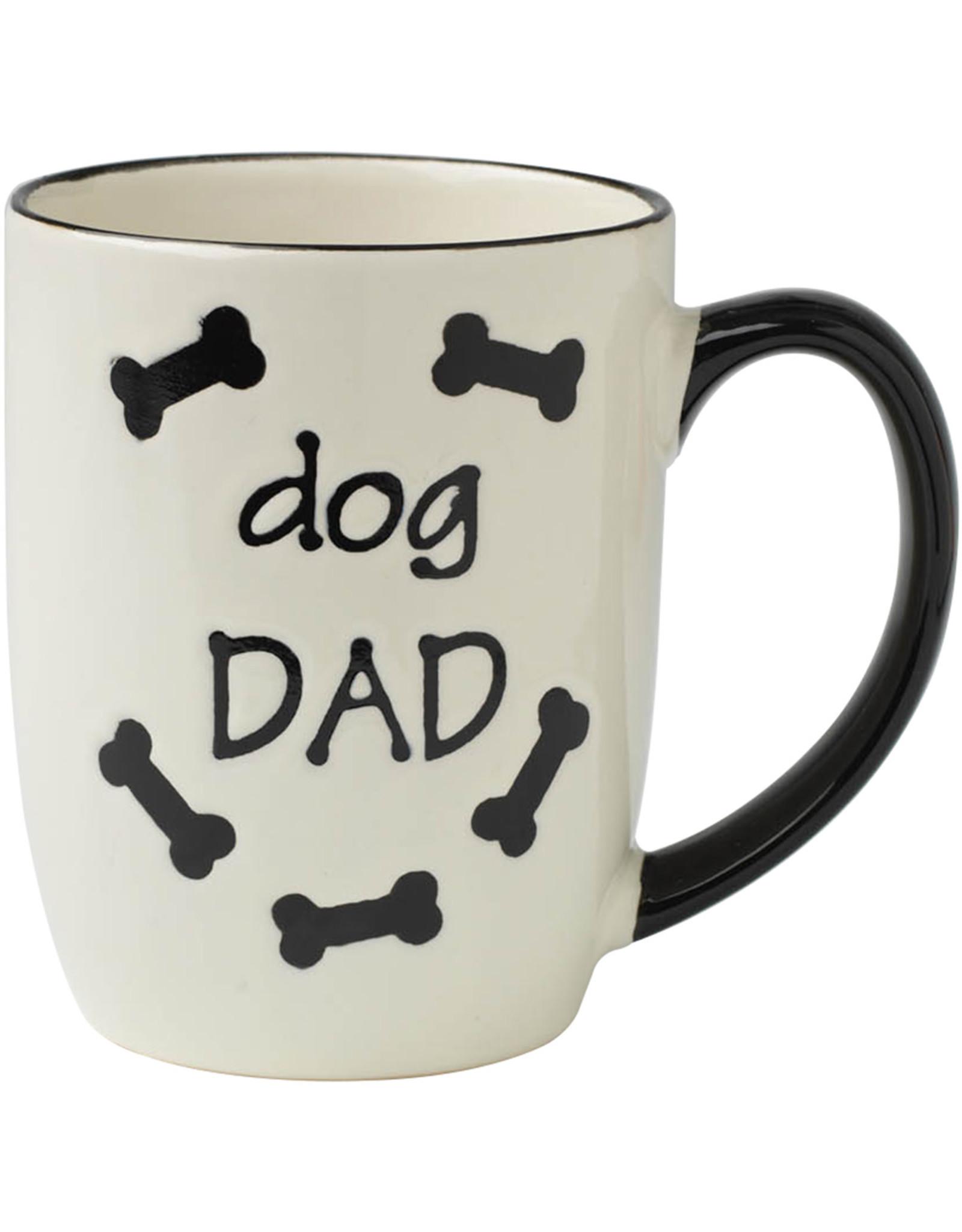 PetRageous Petrageous \ Dog Dad Mug \ Natural 18oz