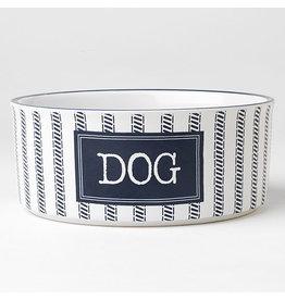 "PetRageous Country Blue Dog Bowl  7"" (3.5 cups)"