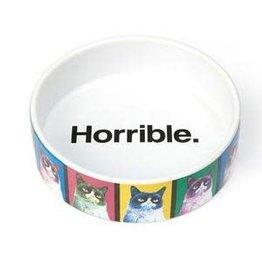 PetRageous Grumpy Cat Pop Art Bowl (1cup) Horrible.