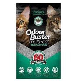 Odour Buster Odour Buster Clumping Litter - Multi-Cat Eucalyptus 12kg